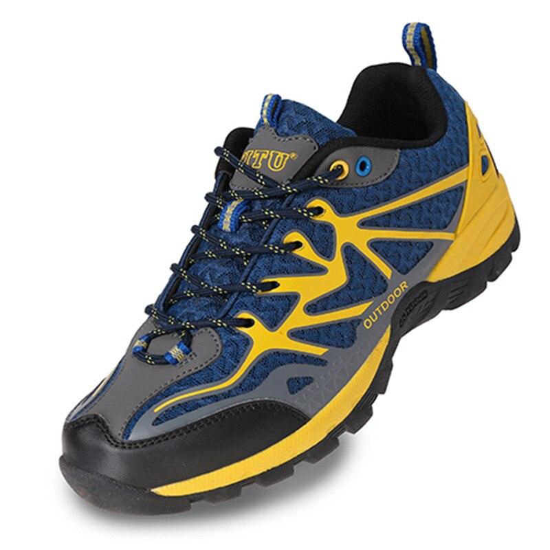 Big size 45 Spring Autumn Outdoor Sports Shoes Men font b Sneakers b font Climbing Hiking
