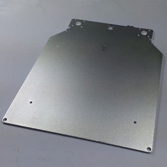 ultimaker 2 Print Table Base Plate for DIY ultimaker 3D printer Aluminium Alloy Oxidation Treatment Surface 303.5*257*4m