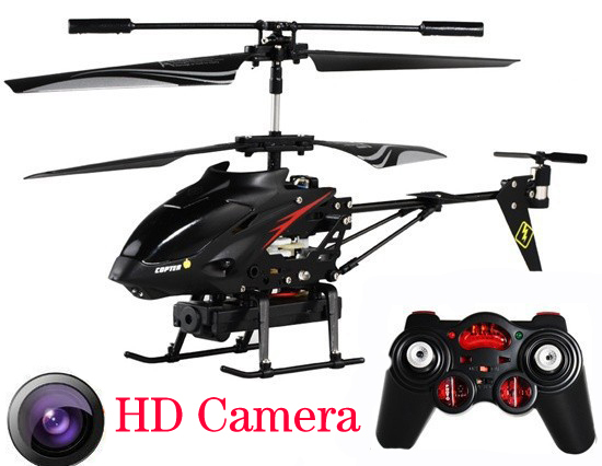 3.5 CH RC Drone with HD Camera Remote Control RC Helicopter with camera Video Quadcopter Scale models Boy Baby toys for children