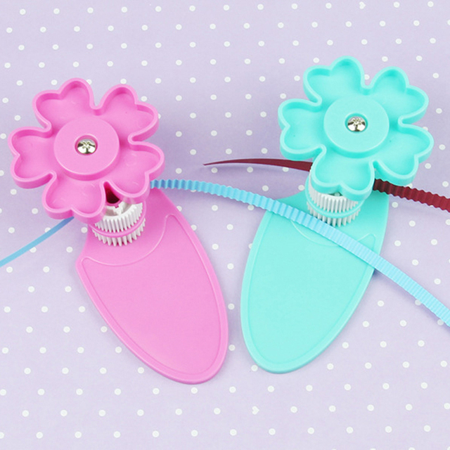 Curved Paper Wave Shape Flower Origami Quilling Crimper Crimping Tool Quilled Wave Creation Craft Paper