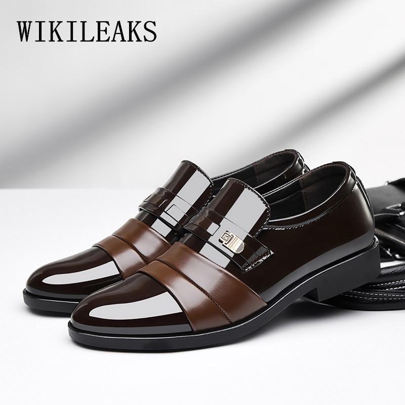 Detail Feedback Questions about black brown elegant designer loafers men  formal shoes leather mocassim masculino italian oxford shoes men erkek deri  ... 3f8cb54d8354