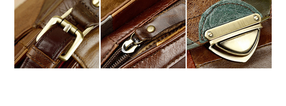 Cobbler Legend Women's Shoulder Messenger Bags Retro Genuine Leather Lady Female Handbag Women Vintage Style Hand Bag 160310-1 7