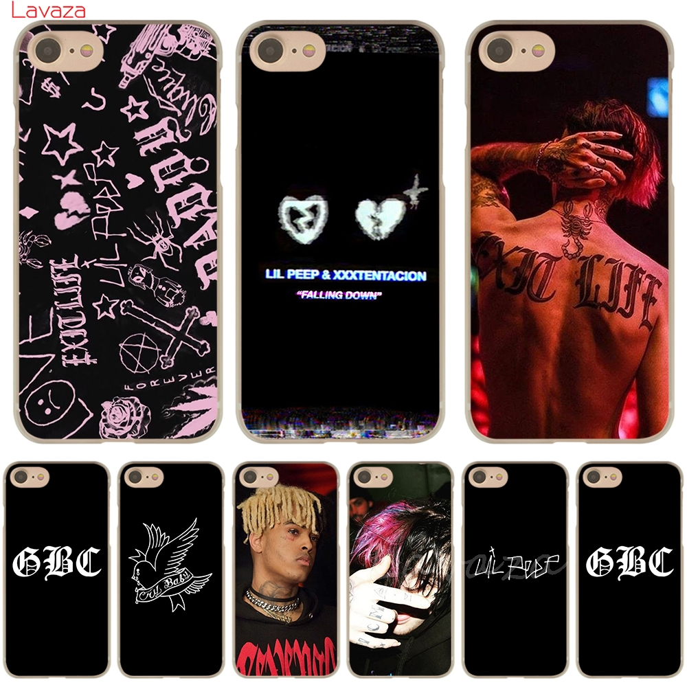 Lavaza LIL PEEP & <font><b>XXXTENTACION</b></font> Hard Phone <font><b>Case</b></font> Shell for Apple <font><b>iPhone</b></font> 6 6s <font><b>7</b></font> 8 Plus 4 4S 5 5S SE 5C for <font><b>iPhone</b></font> XS Max XR <font><b>Cases</b></font> image
