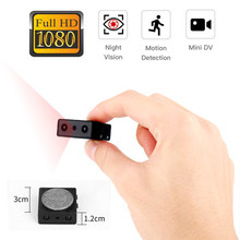 Mini Camera Smallest 1080P Full HD IR Camcorder Infrared Night Vision Micro Cam Detection DV video voice Support Hidden TF card(China)