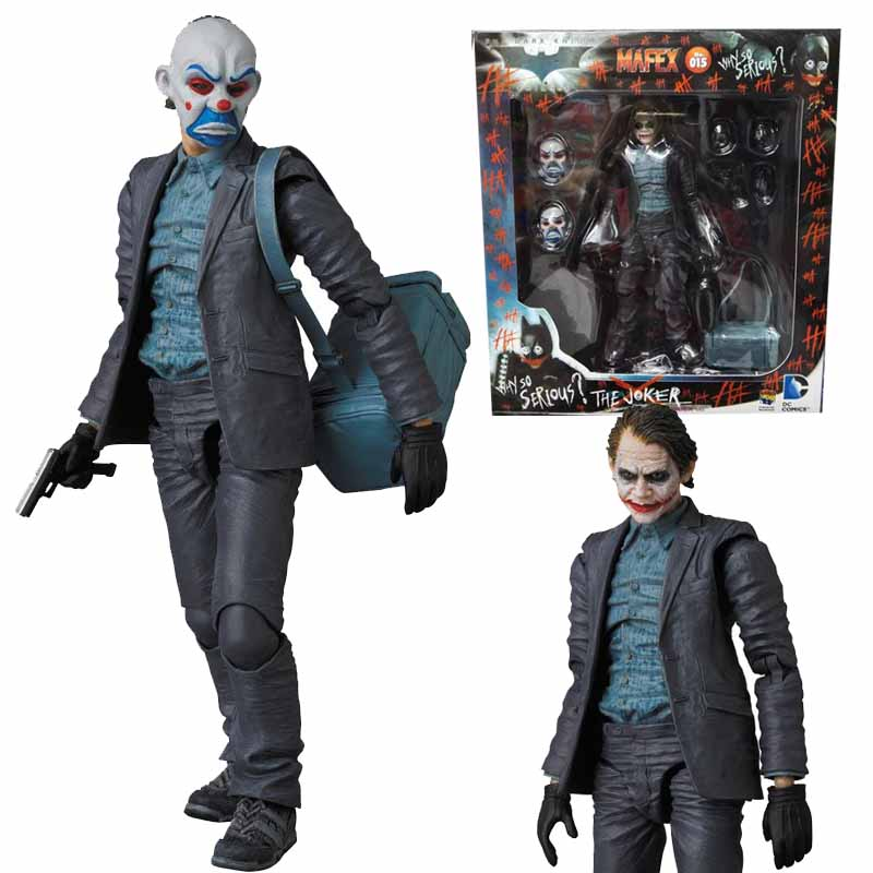 16cm Batman The Joker Figure Collectible Model Toys Movie Batman Suicide Squad Joker PVC Action Figures Toy Doll batman the joker playing poker ver pvc action figure collectible model toy 19cm