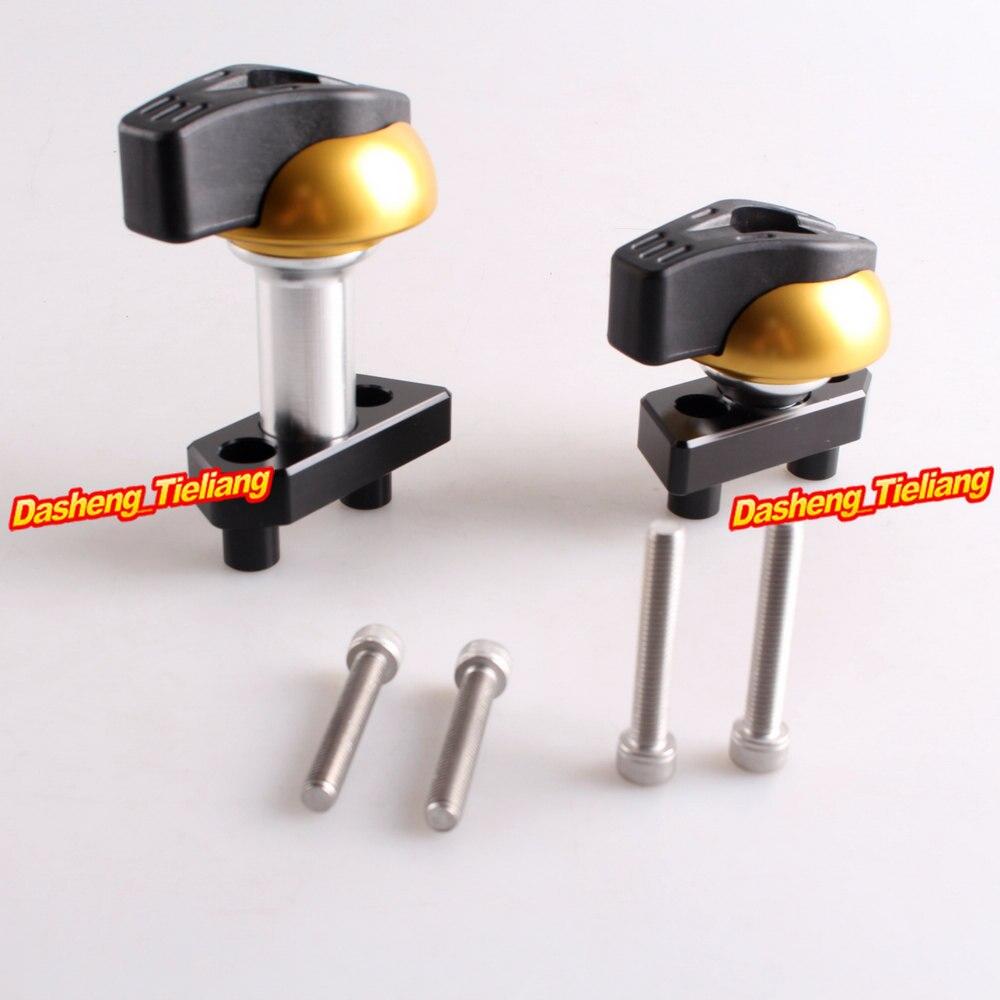 CNC Stator Cover Slider Frame Crash Protector For Kawasaki Z800 2012 2013, Gold Color