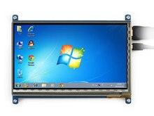Displayer модуль 7 дюймов сенсорный жк-экран применение пи малины BB черный компьютерной микро-hdmi высокой четкости 7 дюймов жк-модули 1 шт.