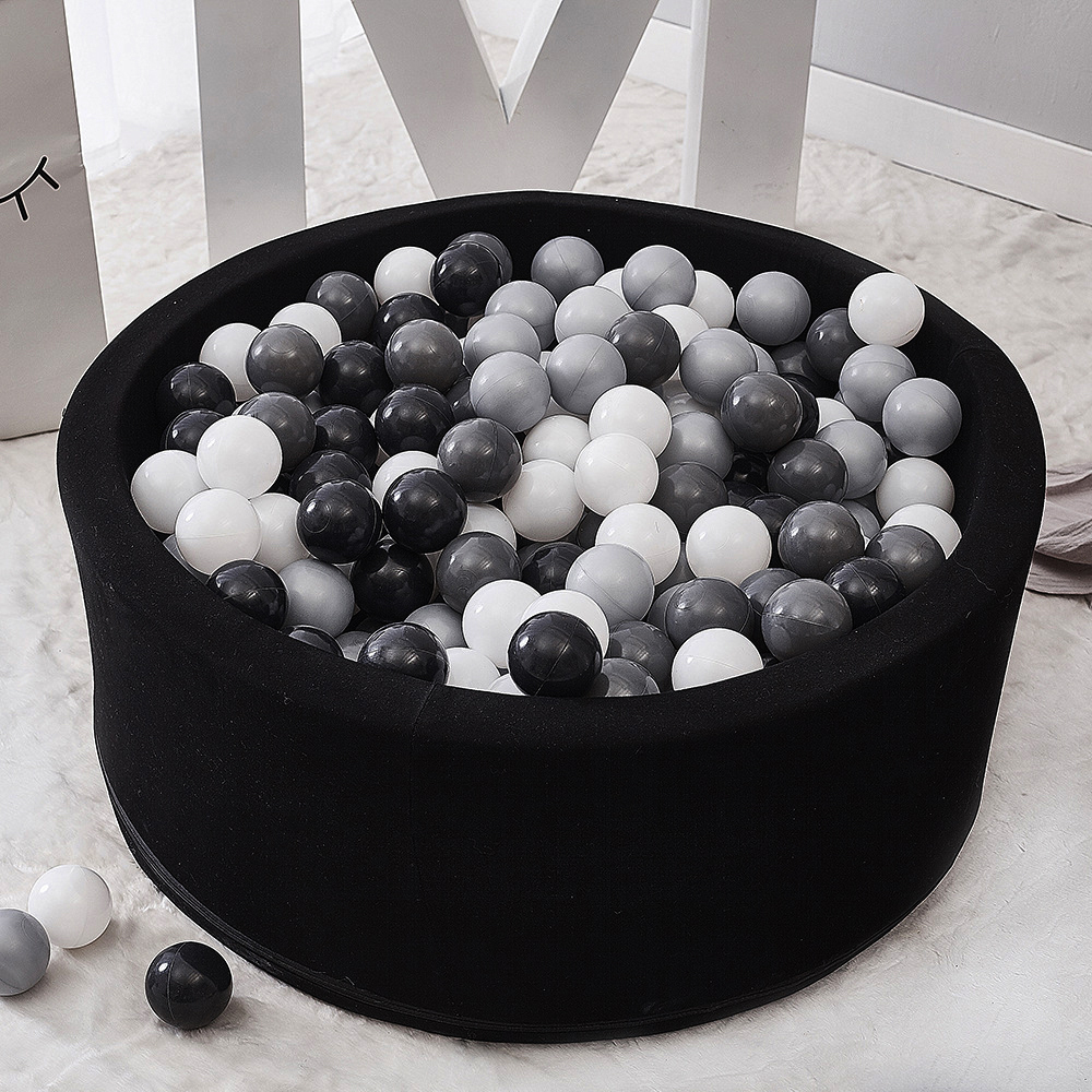 Handmade Kids Foam Round Ball Pool Soft Fashion Ocean Balls Pit Children Room Decor Little Tots Toddlers Baby Nursery Play Toy
