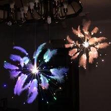 Уличная Рождественская светодиодная гирлянда «сделай сам» огни
