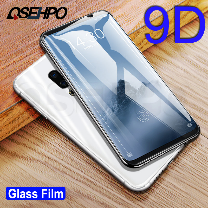 9D Full Cover Tempered Glass On The For Meizu M8 X8 Note 8 M15 15 Lite 16 16th 16X 16S 15 16 Plus Screen Protective Film Case