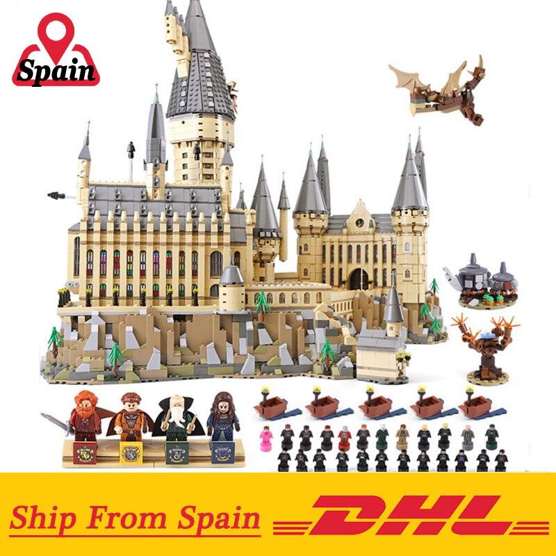 영화 시리즈 16060 해리 학교 성 세트 호환 71043 성 모델 빌딩 블록 벽돌 아이 장난감 선물-에서블록부터 완구 & 취미 의  그룹 1