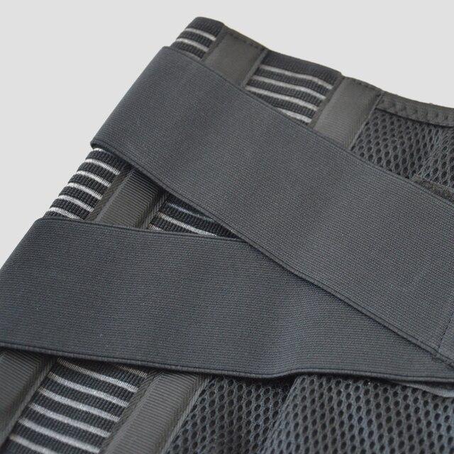 Correa de Metal de alta Calidad Ayuda de La Cintura Cuidado de La Salud Aliviar El Dolor de Espalda Corrector de Postura Protección De Lumbar