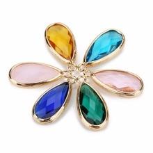 купить LOULEUR 6 Colors Birthstone Natural Stone Pendant Water Drop Glass Crystal For Diy Charm Necklace Making For Women Jewelry по цене 175.2 рублей