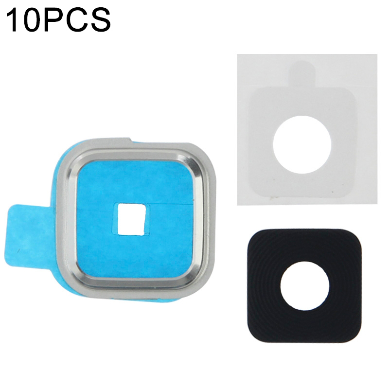 iPartsBuy 10 PCS Back Camera Lens Frame Holder for Galaxy S5 / G900 image