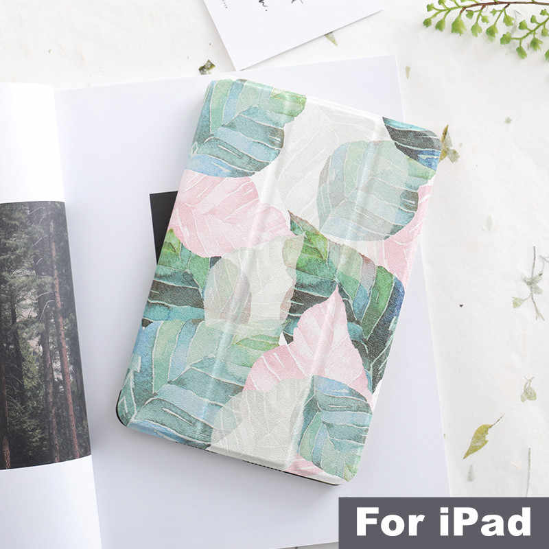 Literarias de hoja de imán Flip Cover para iPad Air, iPad Pro 9,7 11 aire 10,5 12,9 Mini 2 3 4 5 2019 Tablet funda para iPad 9,7 2017 2018
