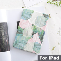 literary-leaf-magnet-flip-cover-for-ipad-pro-97-11-105-129-air-air2-mini-1-2-3-4-tablet-case-cover-for-new-ipad-97-2017-2018