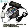 5050 LED Strip RGB 5M 300 LED IP20 Led Diode Tape Non Waterproof 44key Remote 6A
