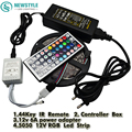 5050 LED Strip RGB 5M 300 LED IP20 Led Diode Tape Non-Waterproof +44key Remote+ 6A Power Adapter For Home Garden Decoration
