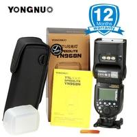 YONGNUO YN968N Беспроводной Вспышка Speedlite оснащен светодио дный свет YN968 ttl флэш памяти для цифровых зеркальных фотокамер Nikon Камера YN622N YN560 TX RF603