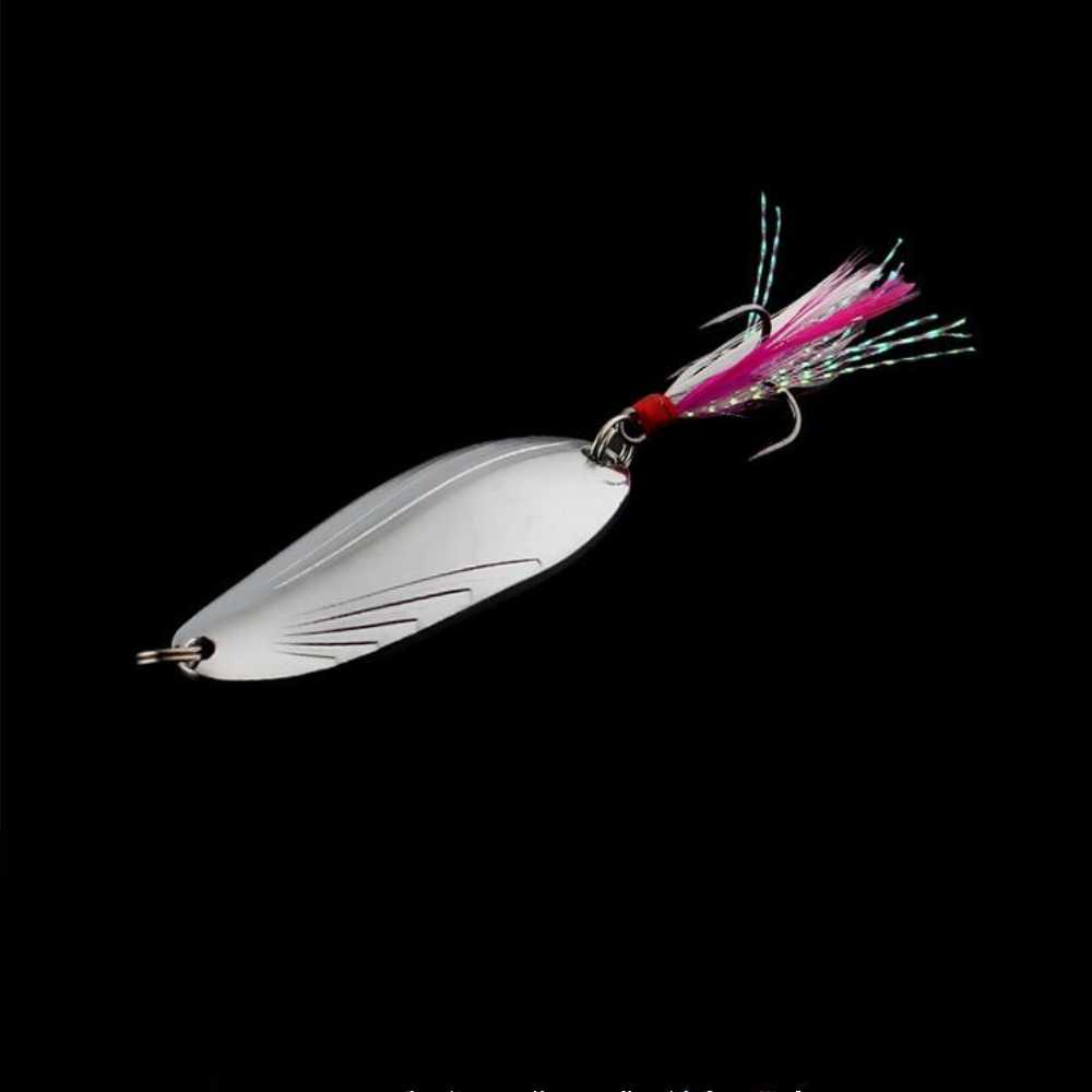 1pcs Goud zilver Metalen lepel lokken Spinner 5g 8g 12g 15g Vissen Lokken Hard Baits voor Forel Pike Pesca Dreg Visgerei