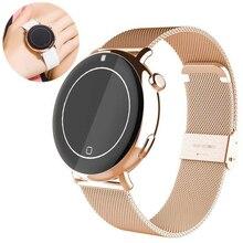 2017 Yeni C7 Bluetooth Kalp Hızı Spor akıllı izle ios Android Akıllı Telefon için Su Geçirmez Kol Saati kadınlar Sağlık Tracker p3
