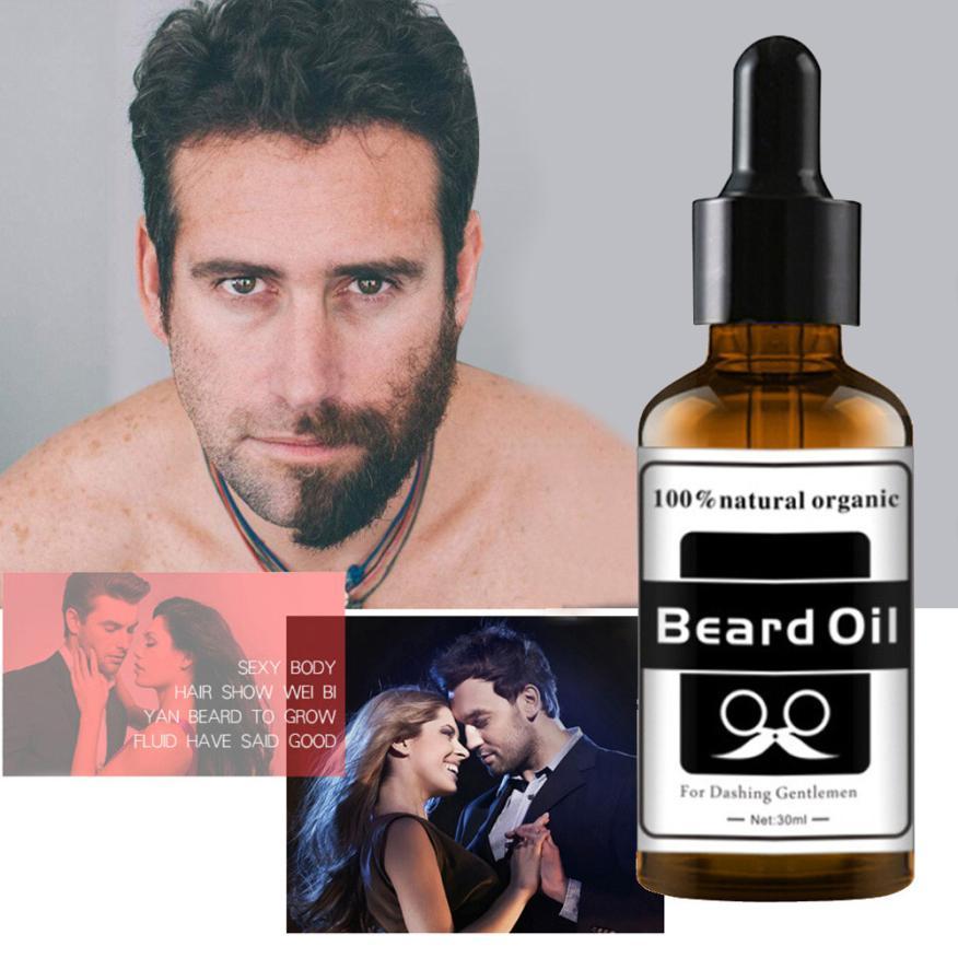 Hair Beard Growth Thicker Essence Mustache Fast Grow Eyebrow Essence