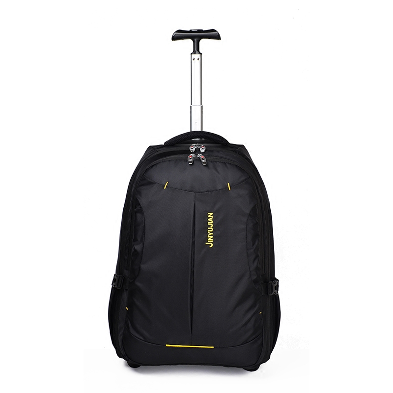 Trolley trolley bag, adult back tow bag, wheeled backpack student, ultra light canvas travel suitcase,High capacitylever LuggageTrolley trolley bag, adult back tow bag, wheeled backpack student, ultra light canvas travel suitcase,High capacitylever Luggage