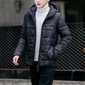 Men Jackets Male Zipper Camouflage Hooded Parkas 2018 New Brand Fashion Long Sleeves High Quality Fit Jaquetas Homens Size M 3XL