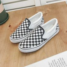 Small White Shoes Female 2018 Summer New Flat Bottom No Heel Half Drag Lazy One Pedal Canvas Shoes(China)