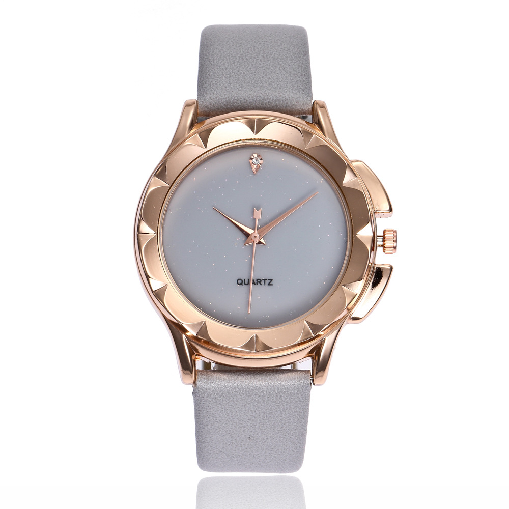 New Fashion Women Large Dial Leather Strap Watch Female Students Korean Simple Casual Diamond Luxury Bran Ladies Dress Watches fashion brand women watches ladies luxury female genuine leather strap dress clocks full diamond big dial dress relogio watches