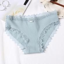 DEWVKV Women Panties Lady Underwear Breathable Briefs Sexy for Cotton Crotch Lingerie Intimates Hot Sale 2019