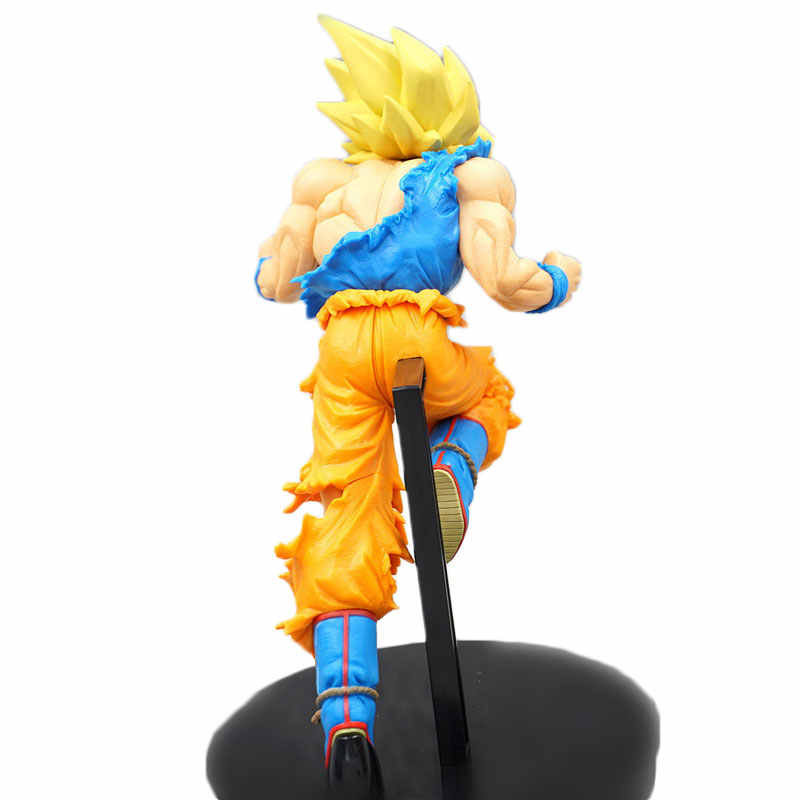 18 cm Japonaise Super Dragon Ball Son Goku Action Figure Super Saiyan Dragon Ball Goku Estatueta DBZ Saiyan PVC SaiyanModel brinquedo