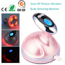 USB Vibration Sonic RF Photon Fat Burning Cellulite Wrinkle Remover Body Slimming Shaping Contouring Sculpting Shaper Massager
