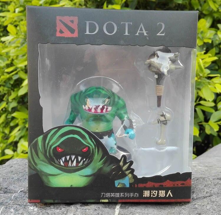 Figuras de Ação e Toy kunkka crystal maiden pudge rainha Fantoches : Modelo