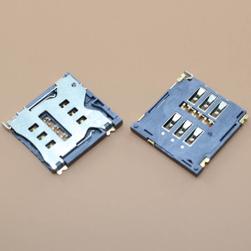 YuXi Brand new for CHINA clone Goophone i5 i6 plus 6G 6 plus 6plus SIM Card Reader connector socket