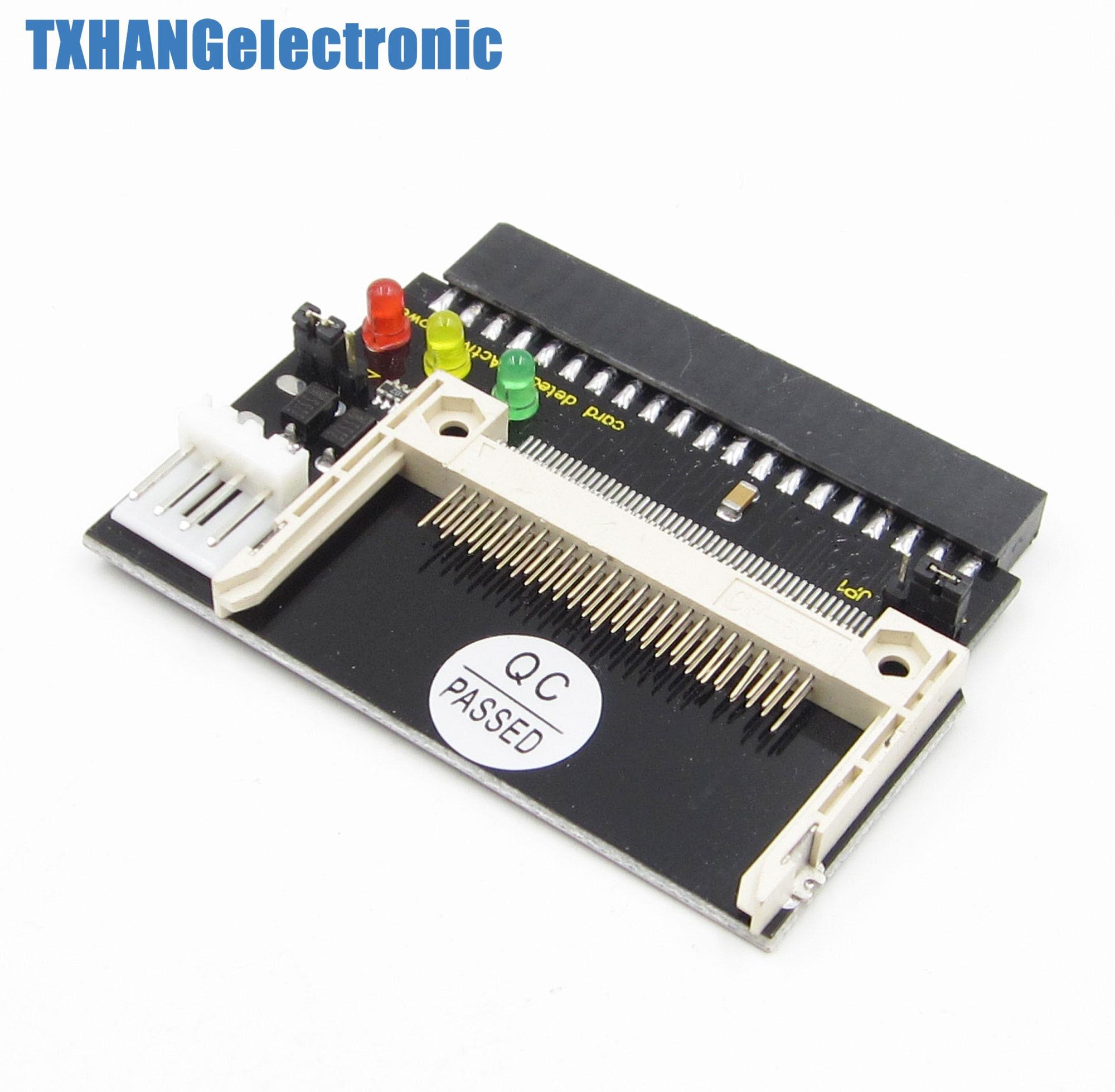 pact Flash CF menjadi 3 5 Perempuan 40 Pin IDE Adapter Converter Kartu Bootable