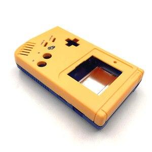Image 2 - Geel en blauw Game Vervanging Case Plastic Shell Cover voor Nintendo GB voor Gameboy Klassieke Console Case behuizing
