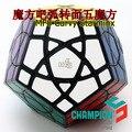 Mf8 Curvy Starminx cubo mágico negro IQ Cubos Magicos rompecabezas Juguetes Educativos Juguetes Educativos Juguetes especiales