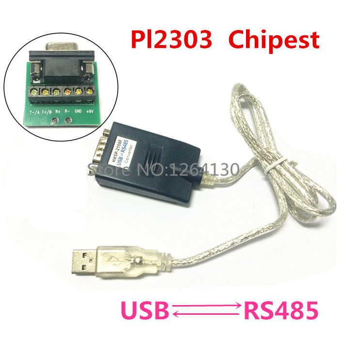 USB 2.0 to RS485 Converter Adapter Cable PL2303 Chip Free Shipping