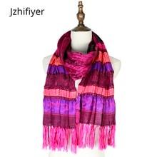winter mujer jacquard scarf spandex elastic wraps shawls scarfs femme pashmina paisley floral soft hijabs