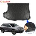 Cawanerl для Jeep Compass Car Cargo Liner Boot напольный коврик для багажника 2007 2008 2009 2010 2011 2012 2013 2014 2015 2016