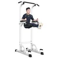 Крытый Pull Up Bar 7 регулируемая высота один двойной бар Mutifunction спортивные оборудования для фитнеса на дому упражнения 300 кг подшипник