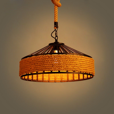 Nordic LOFT Pendant Light American Country Retro iron hemp rope Pendant Lights For Dining room Restaurant Cafe Ceiling LampNordic LOFT Pendant Light American Country Retro iron hemp rope Pendant Lights For Dining room Restaurant Cafe Ceiling Lamp