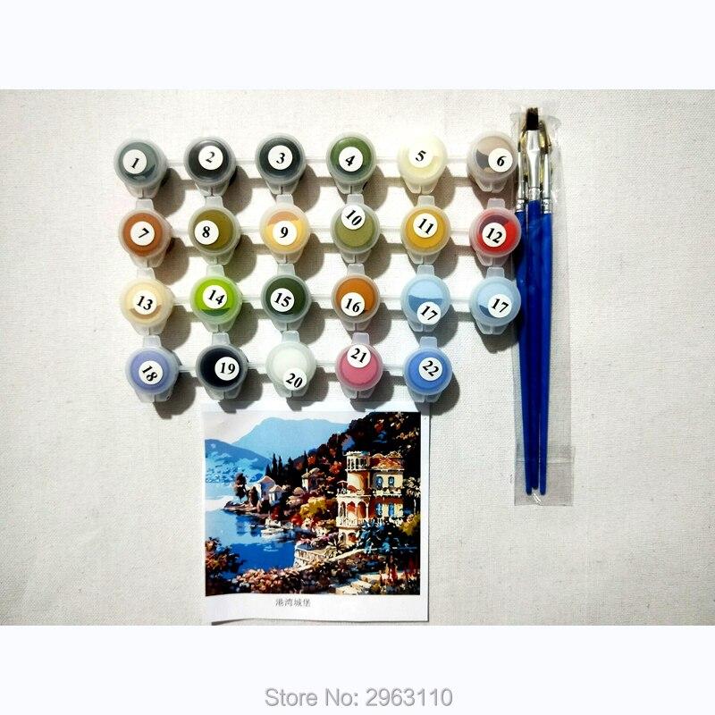 Cuadros de la pared para la sala, dormir gato imagen, colorear por ...