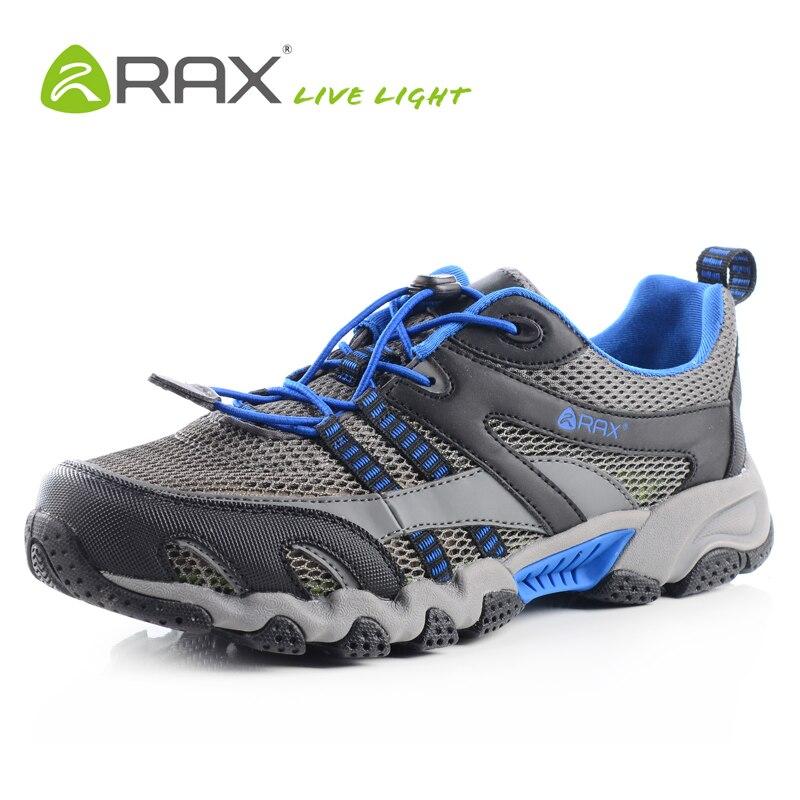 RAX Men Breathable Outdoor Summer Upstream Shoes Men Lightweight Trekking Shoes For Men Aqua Water Shoes Senderismo Hombre все цены
