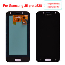 J530 LCD For Samsung Galaxy J5 2017 J530 J530F Amoled LCD Display Touch Screen Digitizer Assembly lcd for J5 Pro 2017 J5 Duos