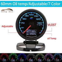 HB 60mm 7 Color In 1 Racing Gauge GReddi Multi D A LCD Digital Display Oil