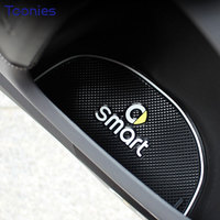 Smart Fortwo 453 Door Slot Mat Car Anti Slip Mats Non Slip Mat Fluorescence 3D Rubber