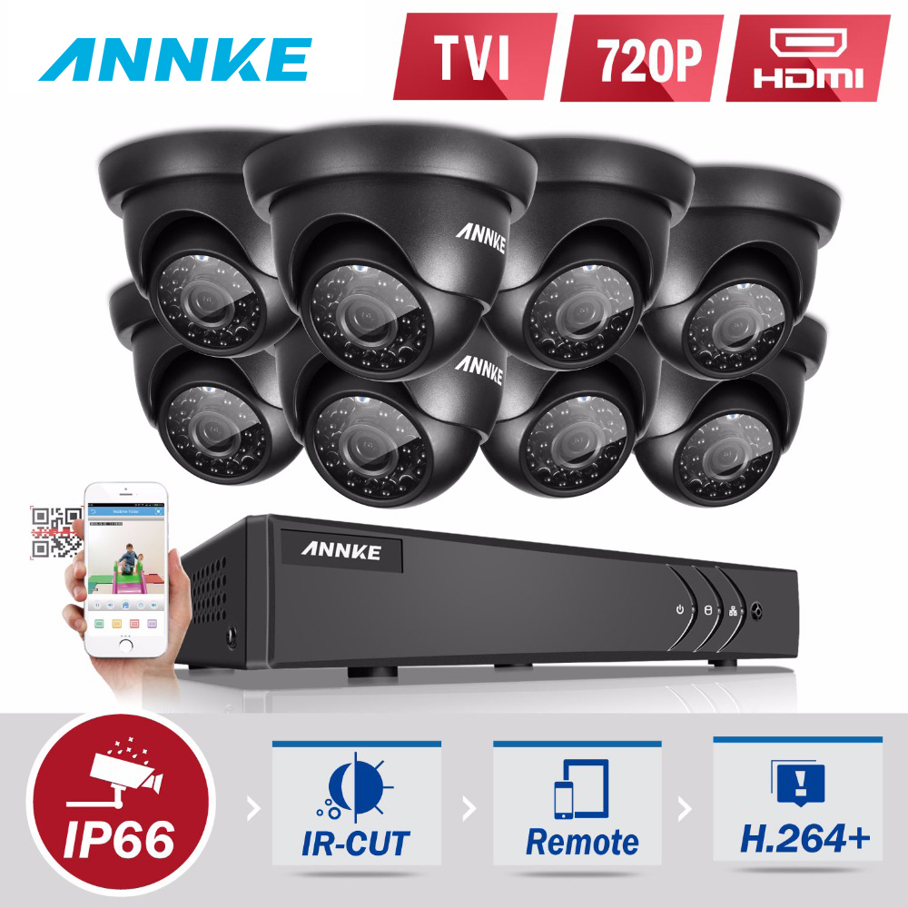 Surveillance Kits With 8 Cameras