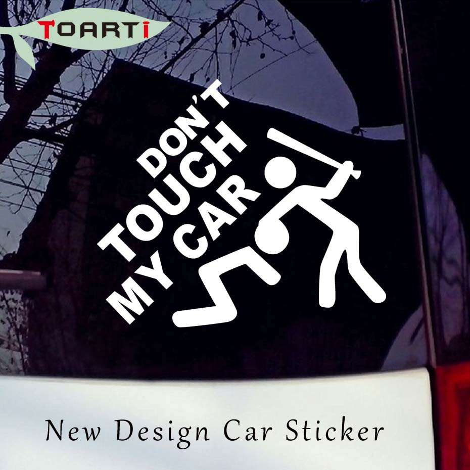 Online Buy Wholesale Car Stickers Dont Touch My Car From - Truck windshield decals   how to purchase and get a great value safely